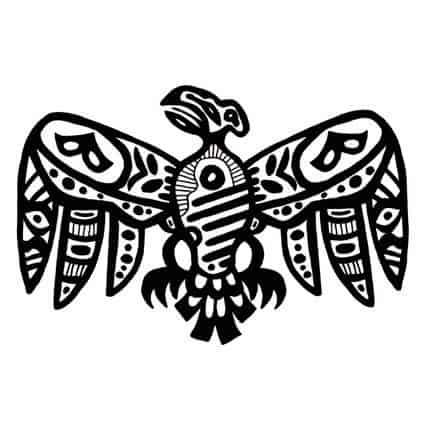 Mayan Eagle Symbol
