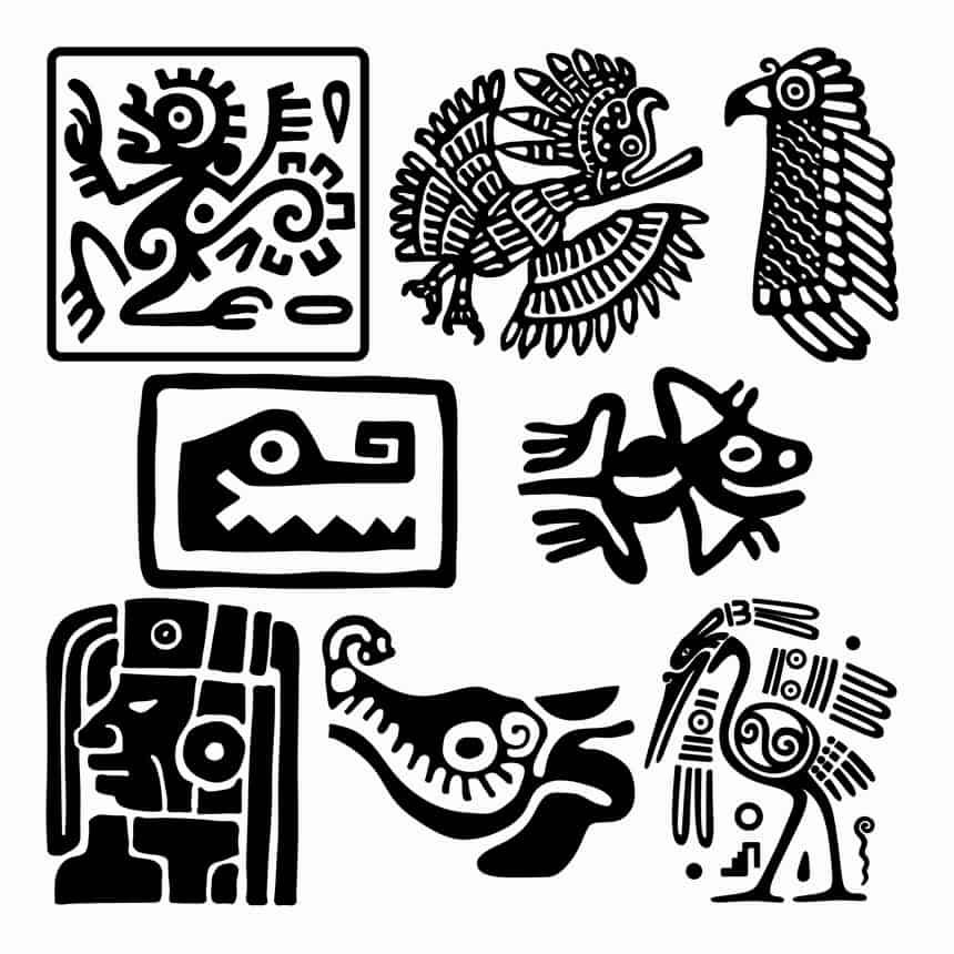 Mayan Tattoo Patterns