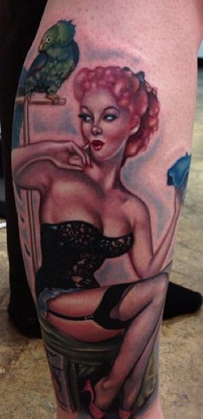 Pin-Up Tattoo