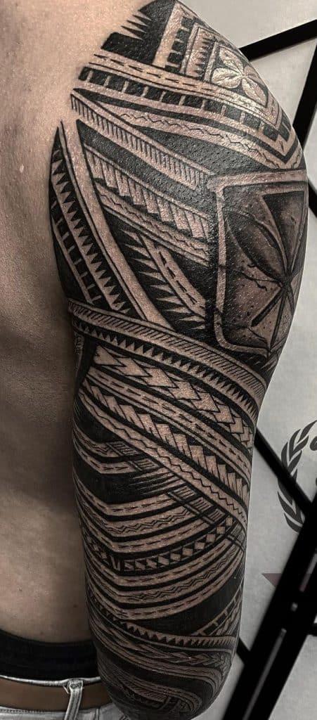 Samoan Spearhead Tattoo