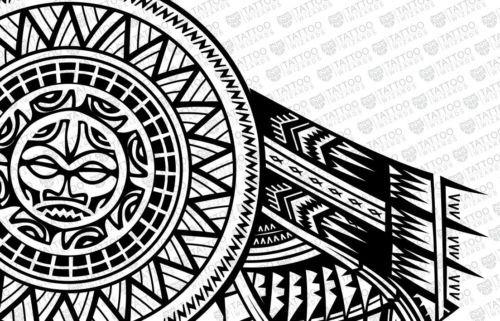 Samoan Sun Design