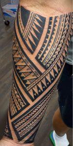 Samoan Triangle Tattoo