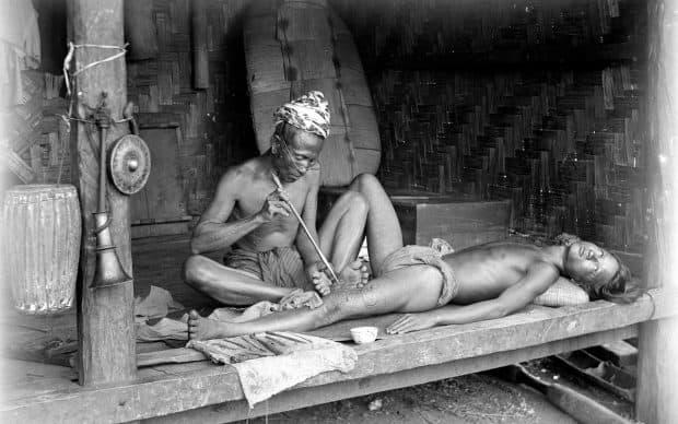 Tribal Tattoo Process