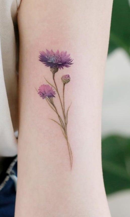 Cornflower Tattoo