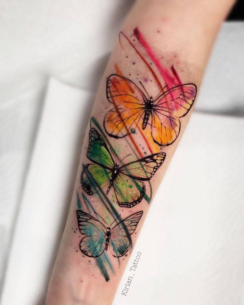 Kirian's Watercolor Tattoo