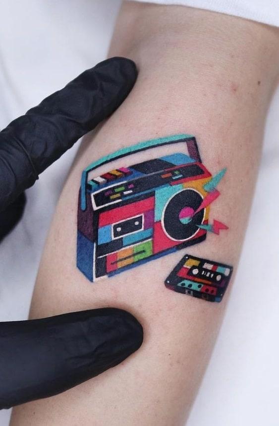 Music Inspired Tattoo