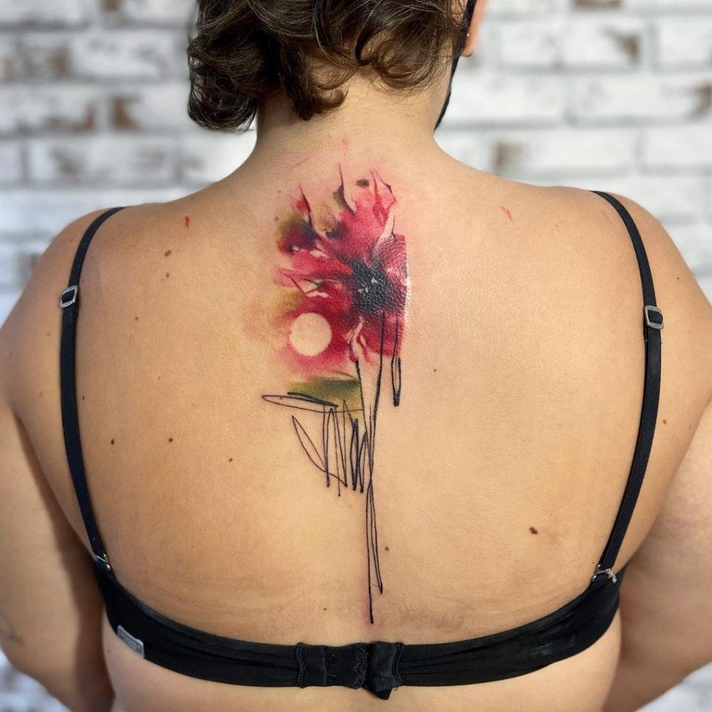 Paulo Victor Skaz Watercolor Tattoo