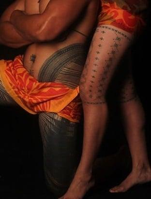Pe'a and Malu Tattoos