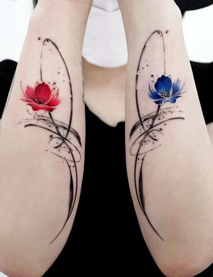 Poppy Flower Tattoo