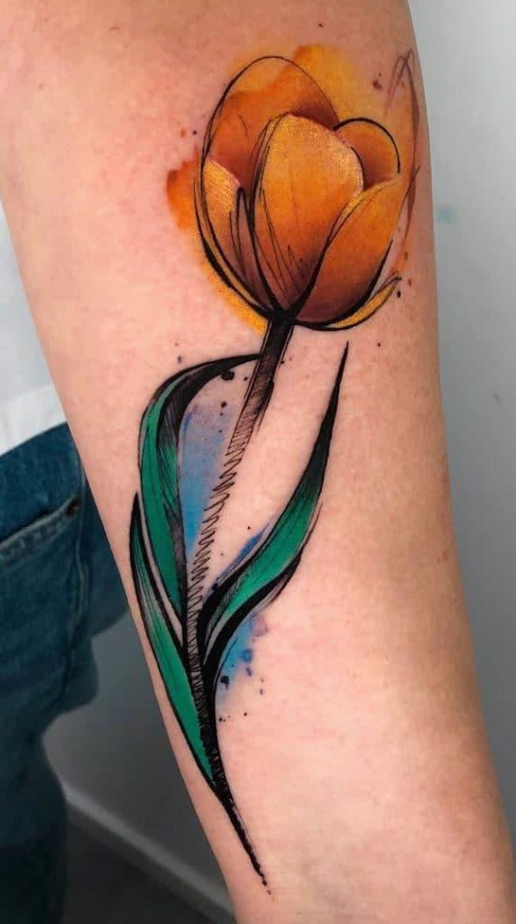 Tulip Tattoo