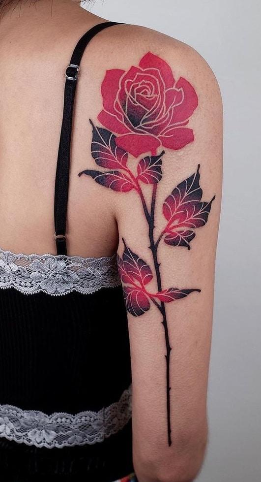 BBrung Flower Tattoo