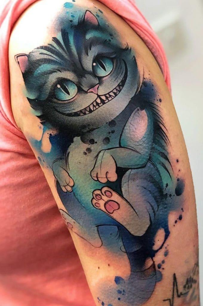 Cheshire Tattoo