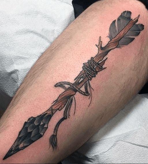 Illustrative Arrow Tattoo