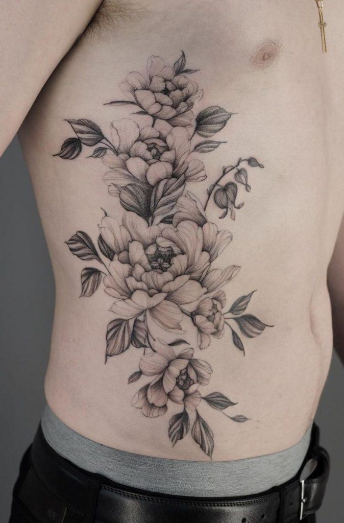 Wolfgang Flower Tattoo