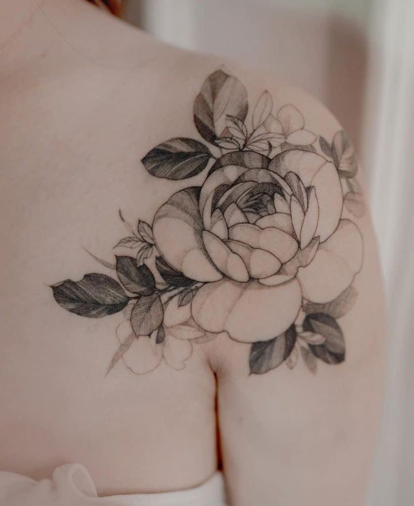 Zihwa Flower Tattoo