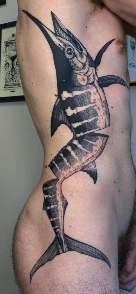 Blue Marlin Tattoo