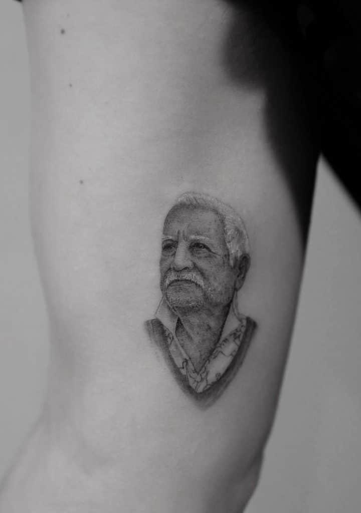 Dr Woo Single Needle Tattoo