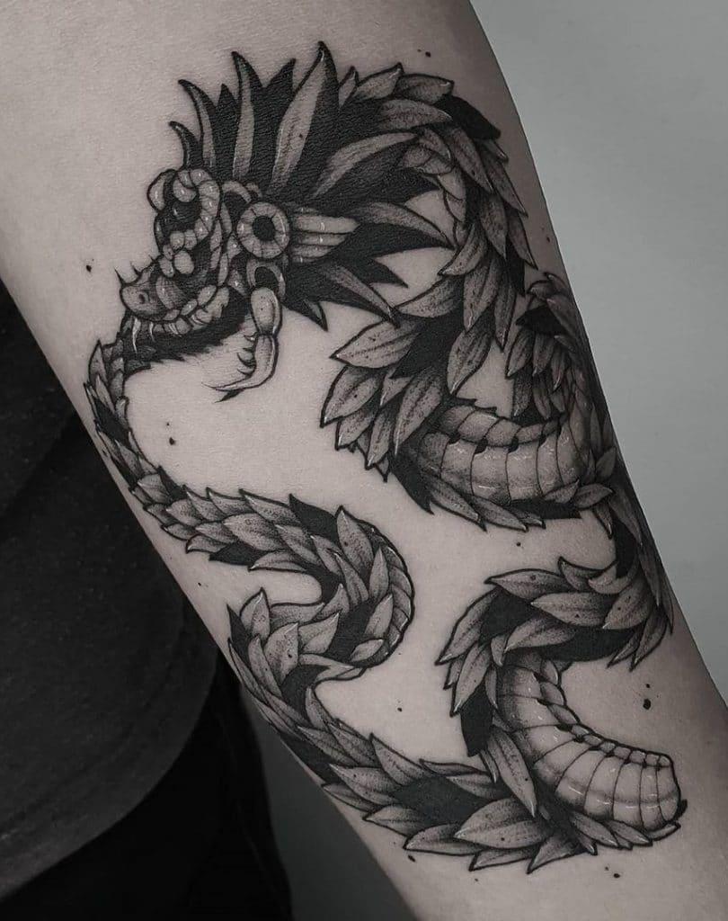 Dragon Ouroboros Tattoo