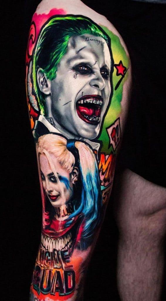 Harley and Joker Tattoo