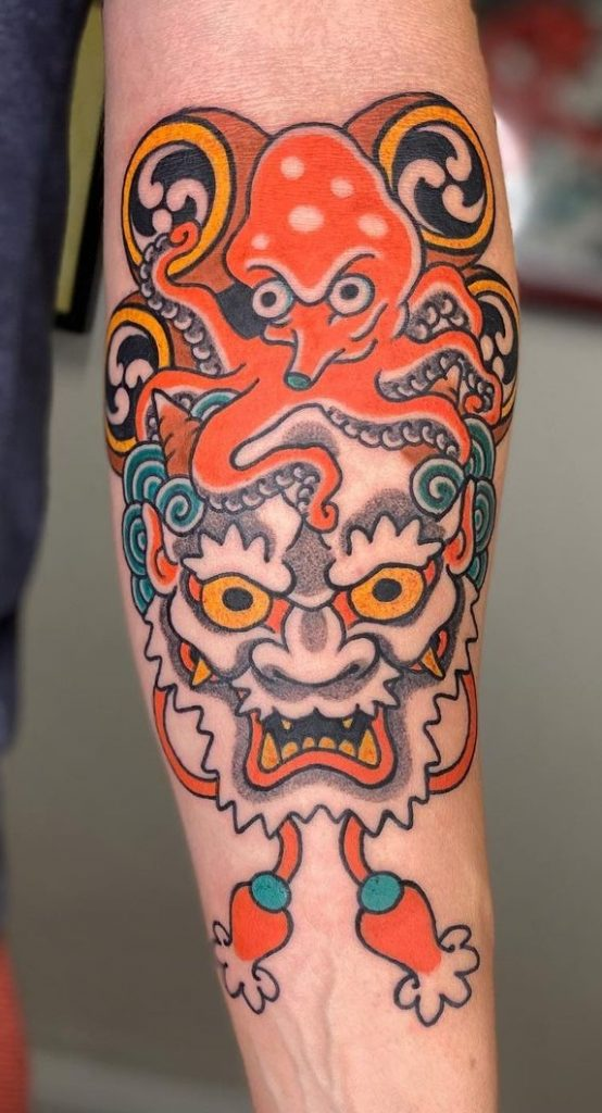 Japanese Octopus Tattoo