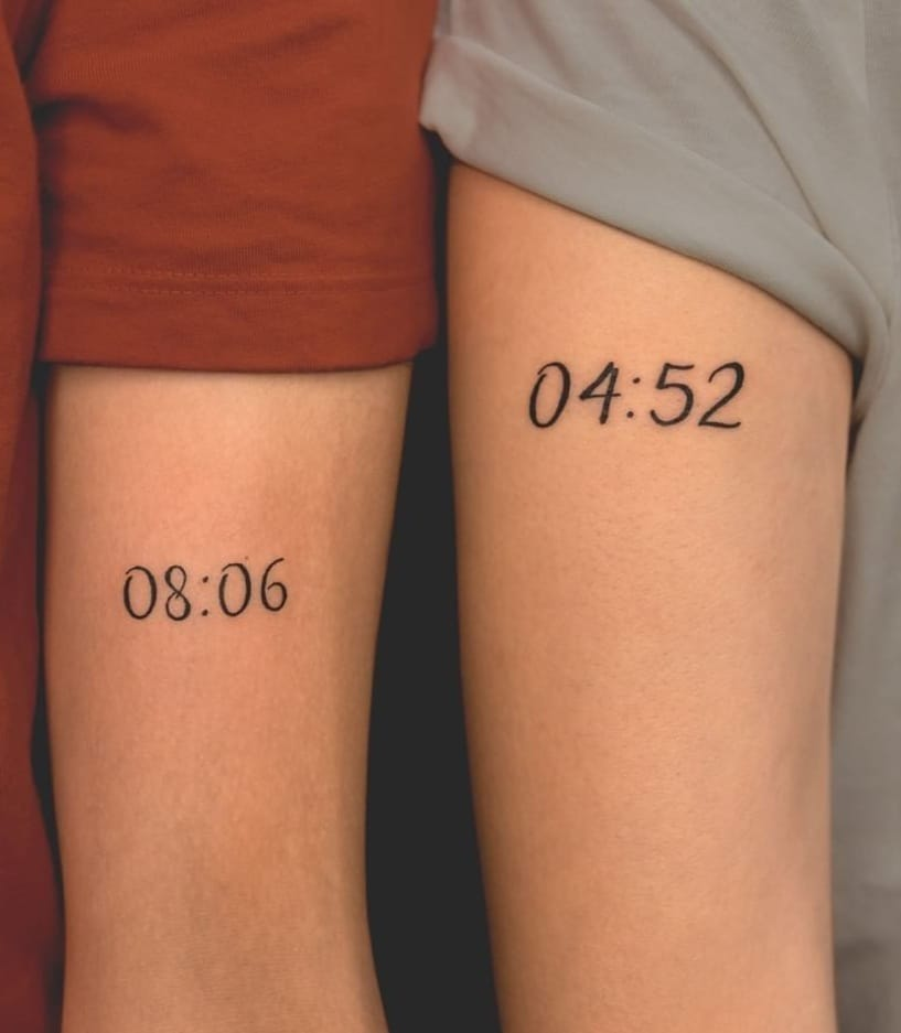 Matching Tattoo for Couples