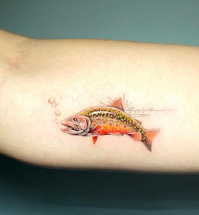 Mr. K Single Needle Tattoo