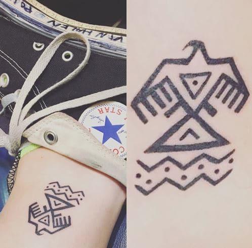 Paris Jackson's Eagle Tattoo