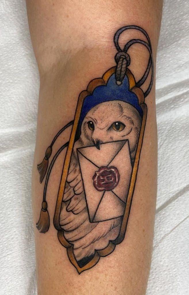 Snowy Owl Tattoo