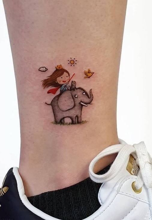 Small AnkleTattoo